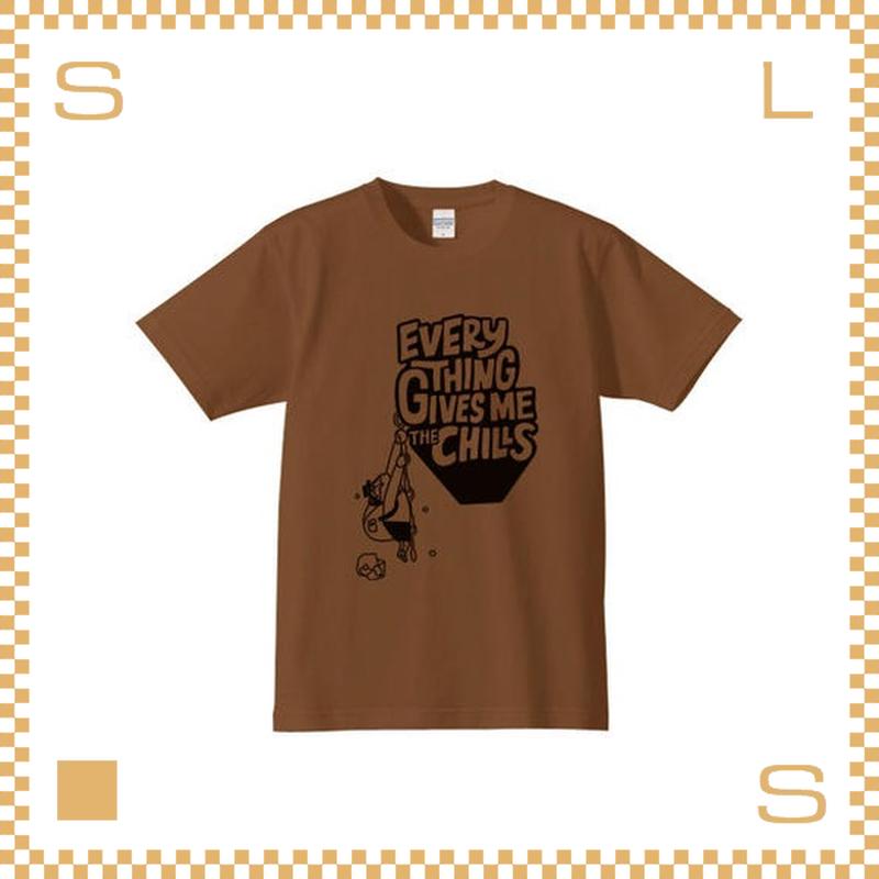 RIVERS リバーズ それがいいTシャツ ダークキャメル サイズXS~LL