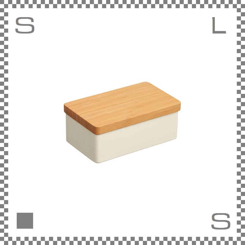 KINTO キントー TAKU バターケース ホワイト 磁器製 バターボックス