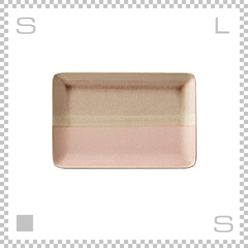 SAKUZAN サクザン COLOR カラー プレート Mサイズ ピンク W227/D152/H15mm パステルカラー 日本製