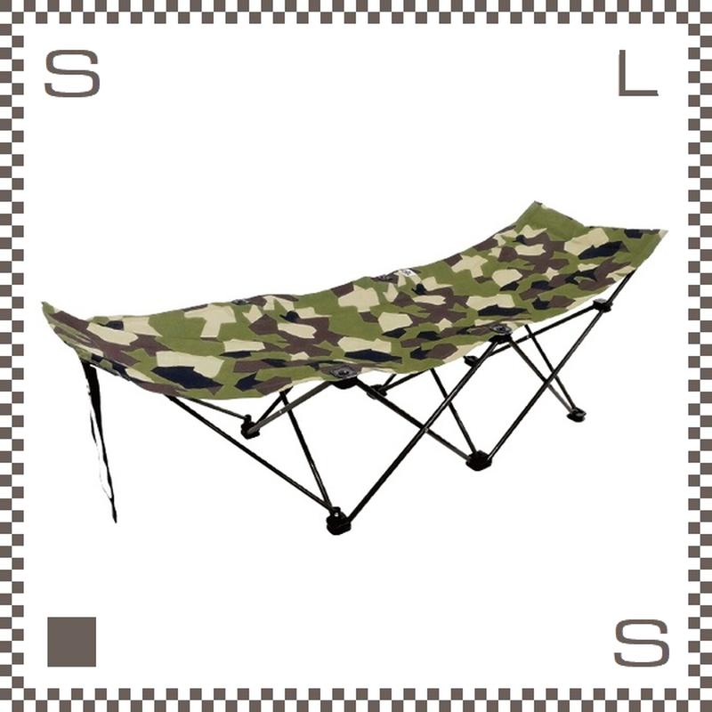 ALL ABOUT ACTIVITY ポータブルコット スプリンターカモ W1890/D600/H610mm 簡易ベッド 折りたたみ式