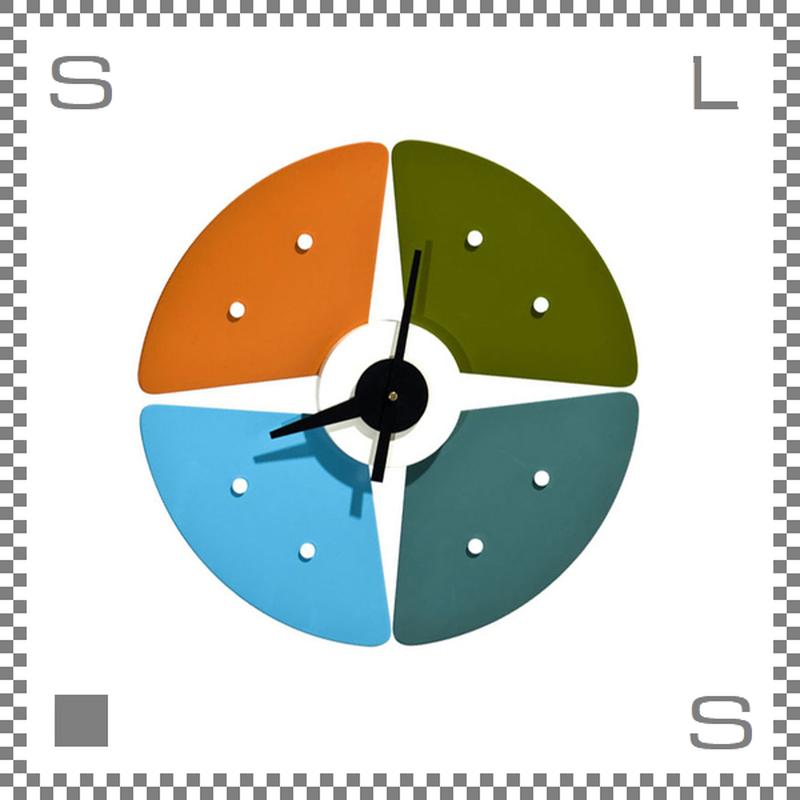 ペタルクロック ジョージネルソン 壁掛け時計 クロック ウォールクロック petal clock george nelson 受注生産/銀行振込限定