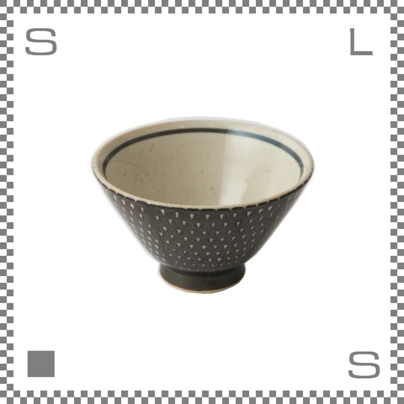 aiyu アイユー ORIME オリメ 鹿の子 カノコ 茶碗 ブラウン Φ11/H6.5cm ライスボウル 波佐見焼 日本製