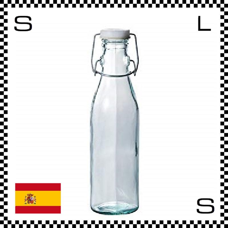 リサイクルガラス ボテラ ボトル キャップ付き 500cc Φ70/H234mm カラフェ ウォーターボトル カフェ スペイン製 g490055