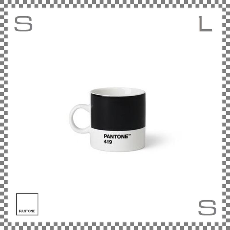 PANTONE パントン エスプレッソカップ ブラック 120ml Φ62/W86/H61.5mm デミタスカップ