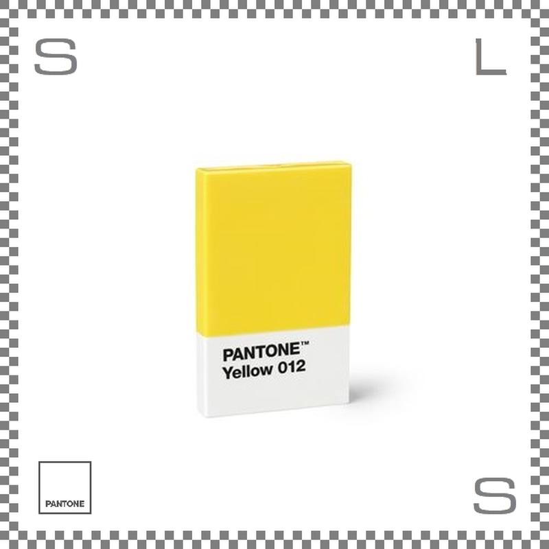 PANTONE パントン カードホルダー イエロー 95×60×11mm 名刺入れ カードケース