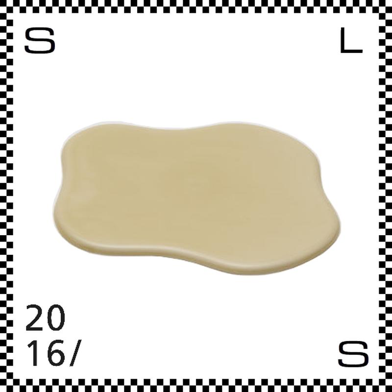 2016/ TAF タフ トレー クレイベージュ W200/D185/H5mm トレイ クラウドモチーフ 雲モチーフ 有田焼 日本製 gs-029