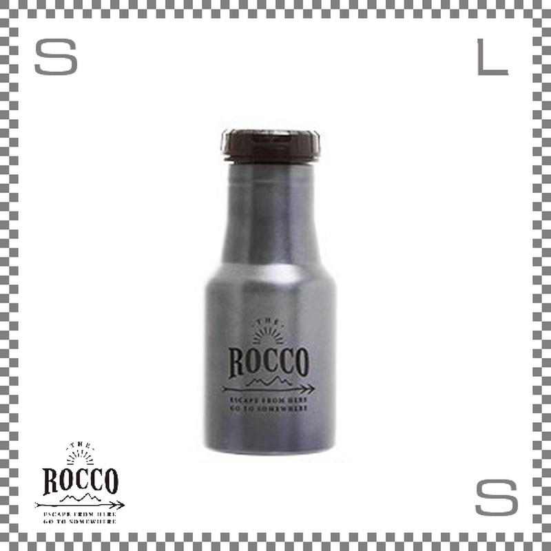ROCCO ロッコ ワンタッチボトル 350ml メタルネイビー Φ73/H178mm ステンレスボトル 魔法瓶 水筒