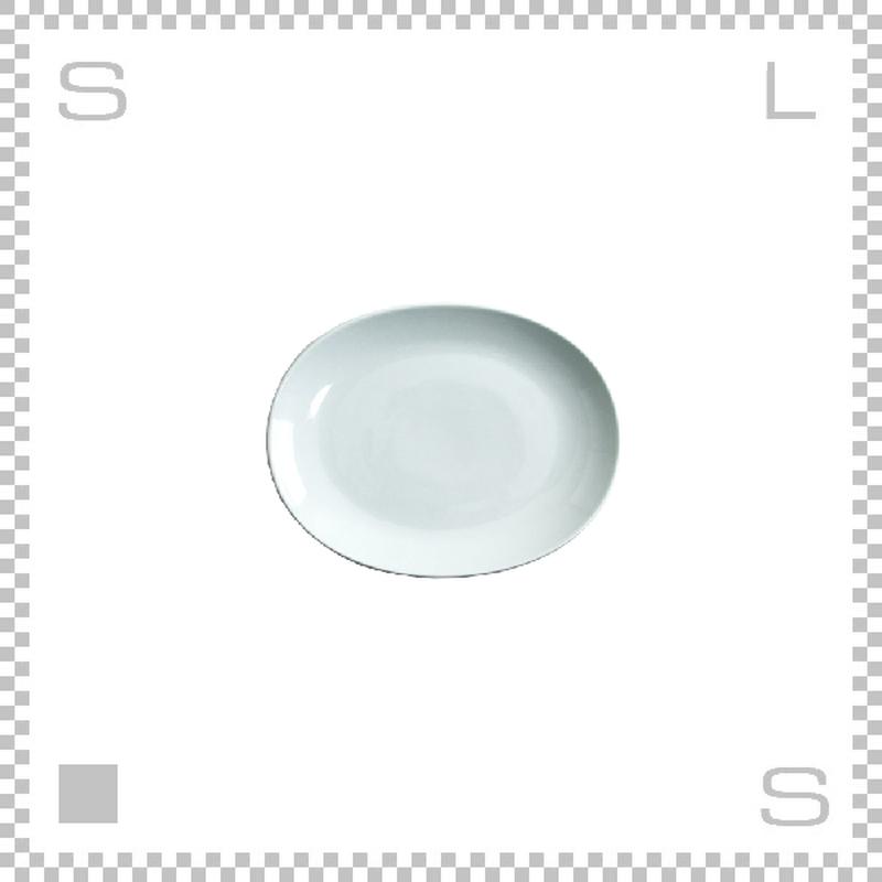 Common コモン オーバルプレート 150mm ホワイト W150/D120/H18mm 波佐見焼 日本製