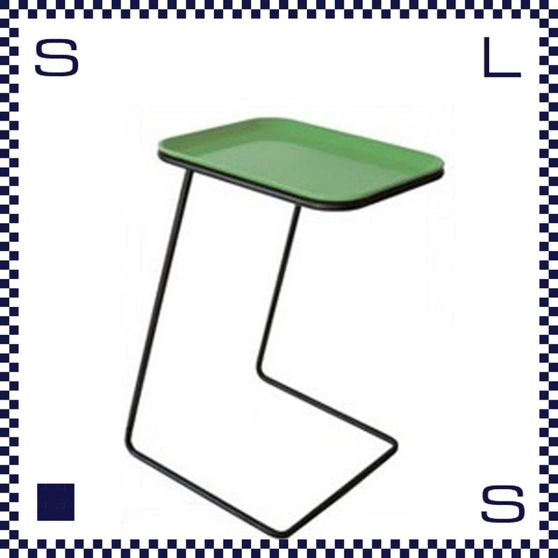 CAMBRO キャンブロ サイドテーブル スクエア フレーム:ブラック/シルバー ライトグリーン:天板 W360/H510/H280mm アメリカ製