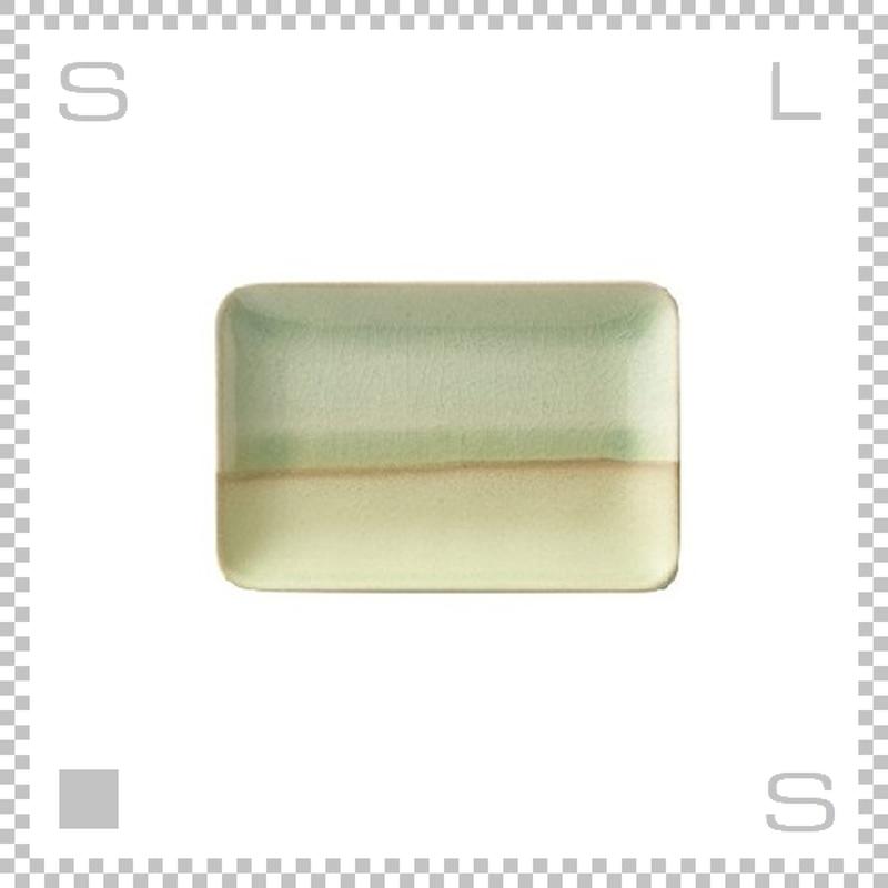 SAKUZAN サクザン COLOR カラー プレート Sサイズ グリーン W132/D82/H8mm パステルカラー 日本製
