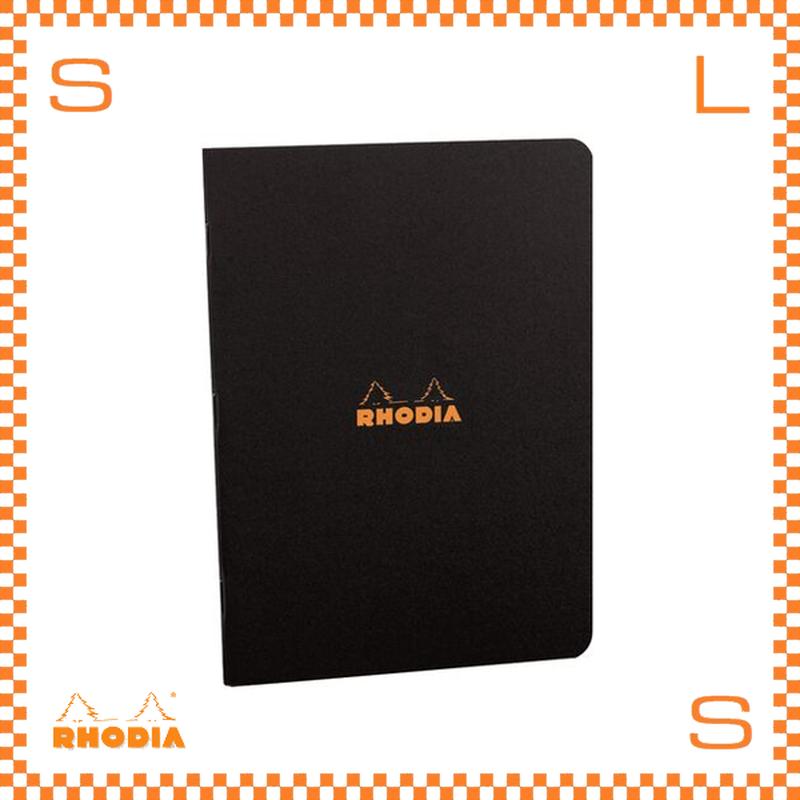 ROHDIA ロディア ノート ステイプルドノートブック A5 横罫 ブラック 5冊セット 7.5×12cm 96P フランス製