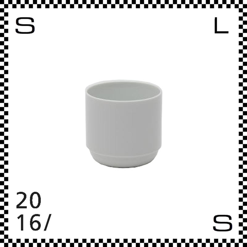 2016/ TAF タフ カップ ホワイト 220ml Φ75/H70mm 湯呑み フリーカップ スタッキング可 有田焼 日本製 gs-003