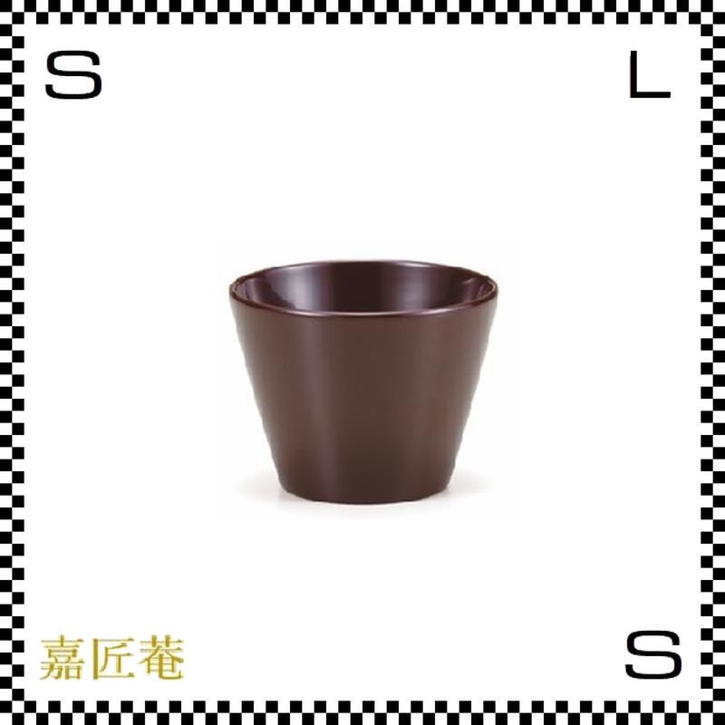 十色の猪口 カップ 茶 ブラウン Φ8/H6cm 漆カップ 漆塗装 ちょこ フリーカップ 小鉢 日本製