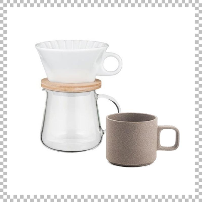 SNOWTOP COFFEE series スノウトップ コーヒーポット&ドリッパーセット 400ml & HASAMI PORCELAIN マグカップ Sサイズ ナチュラル
