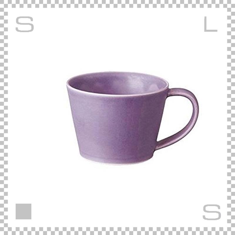 SAKUZAN サクザン SARA サラ コーヒーカップ パープル 190cc パステルカラー 日本製