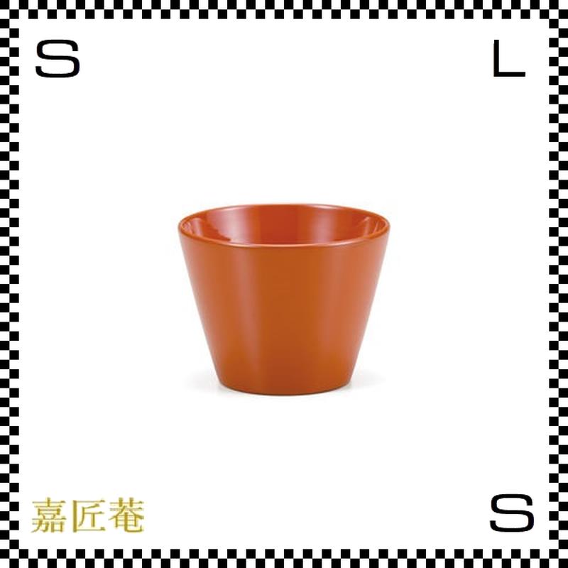十色の猪口 カップ 橙 オレンジ Φ8/H6cm 漆カップ 漆塗装 ちょこ フリーカップ 小鉢 日本製