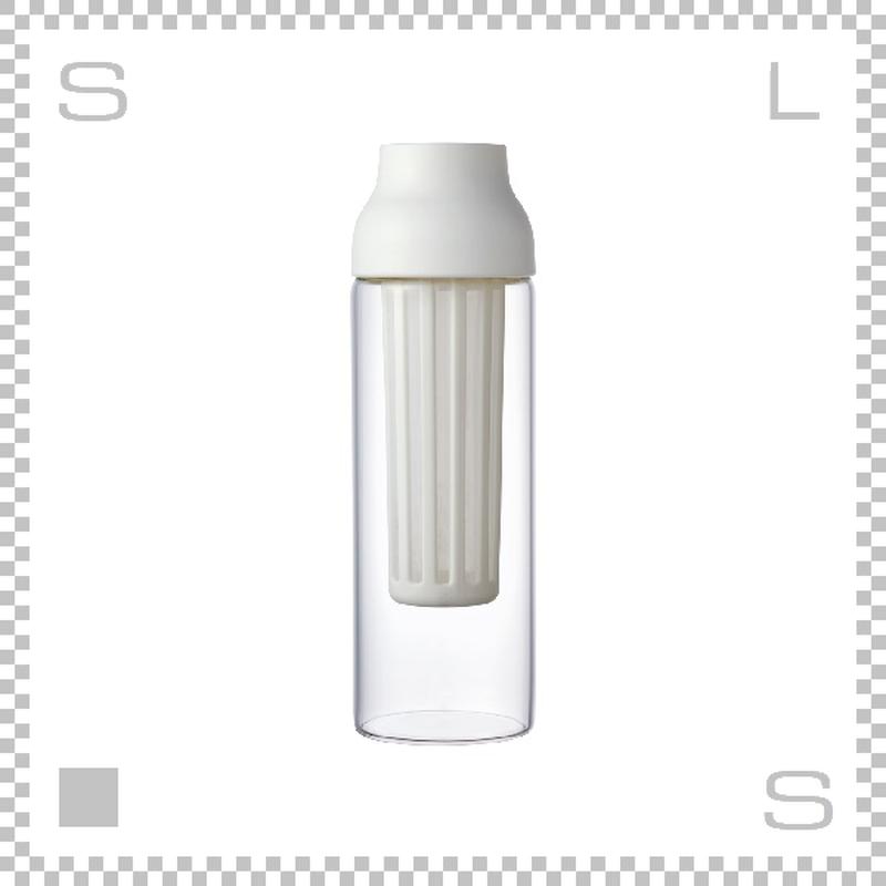 KINTO カプセル コールドブリューカラフェ ホワイト 1000ml Φ85/H270mm 水出しコーヒー 耐熱ガラス製