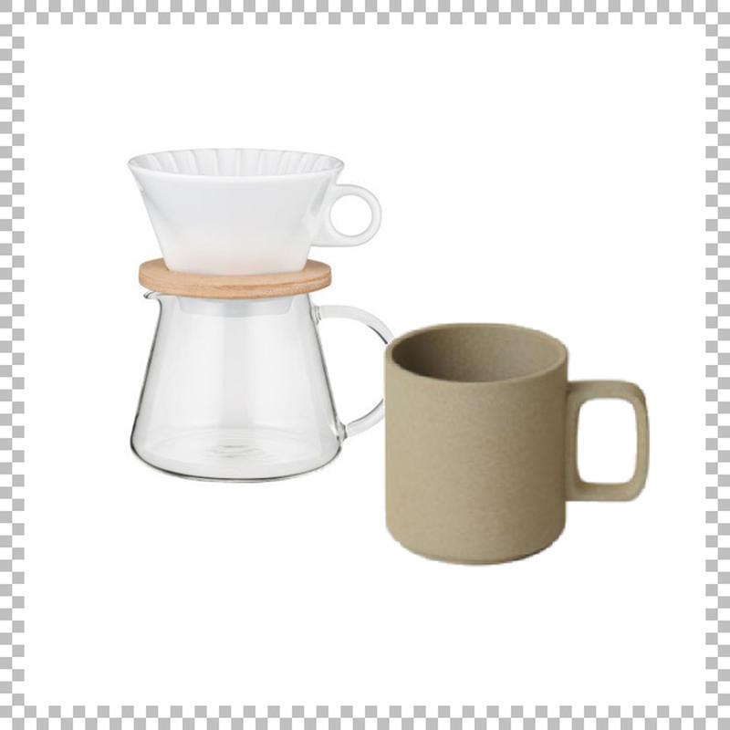 SNOWTOP COFFEE series スノウトップ コーヒーポット&ドリッパーセット 600ml & HASAMI PORCELAIN マグカップ Mサイズ ナチュラル