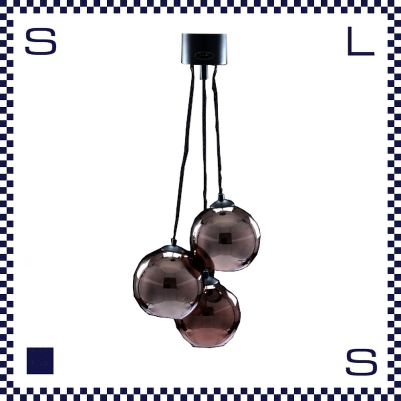 HERMOSA ハモサ SAN MARCO サンマルコ ペンダントランプ 3灯 ガラスシェード W400/H267/H930mm
