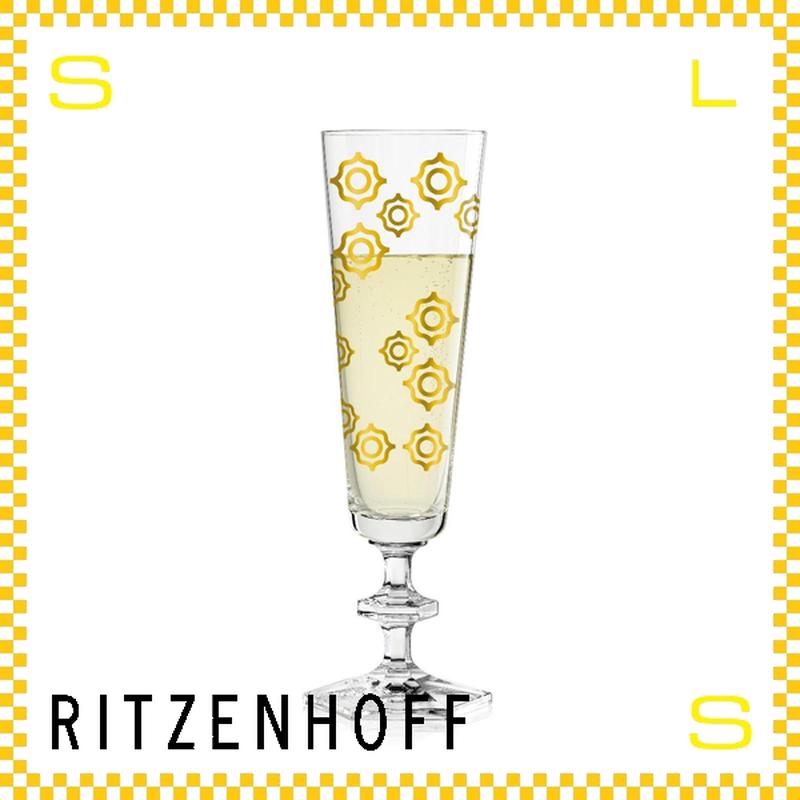 RITZENHOFF リッツェンホフ シャンパングラス 100ml サンマーク カルロ・ダル・ビアンコ Φ60/H210mm フルートグラス サンシャイン ギフト  ritz-3520001