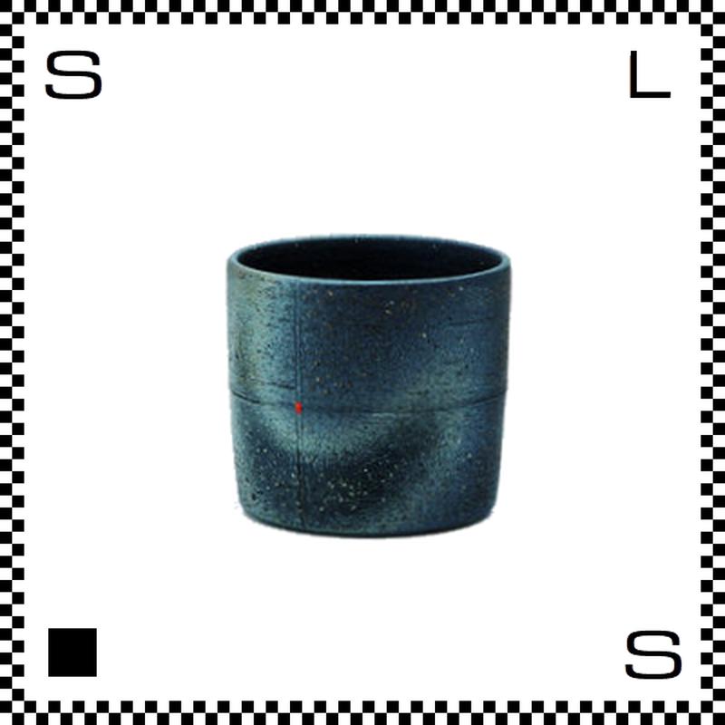 信楽焼 Cross クロス ロックカップ 300ml Φ8.5/H7.5cm フリーカップ 湯呑み ハンドメイド 日本製
