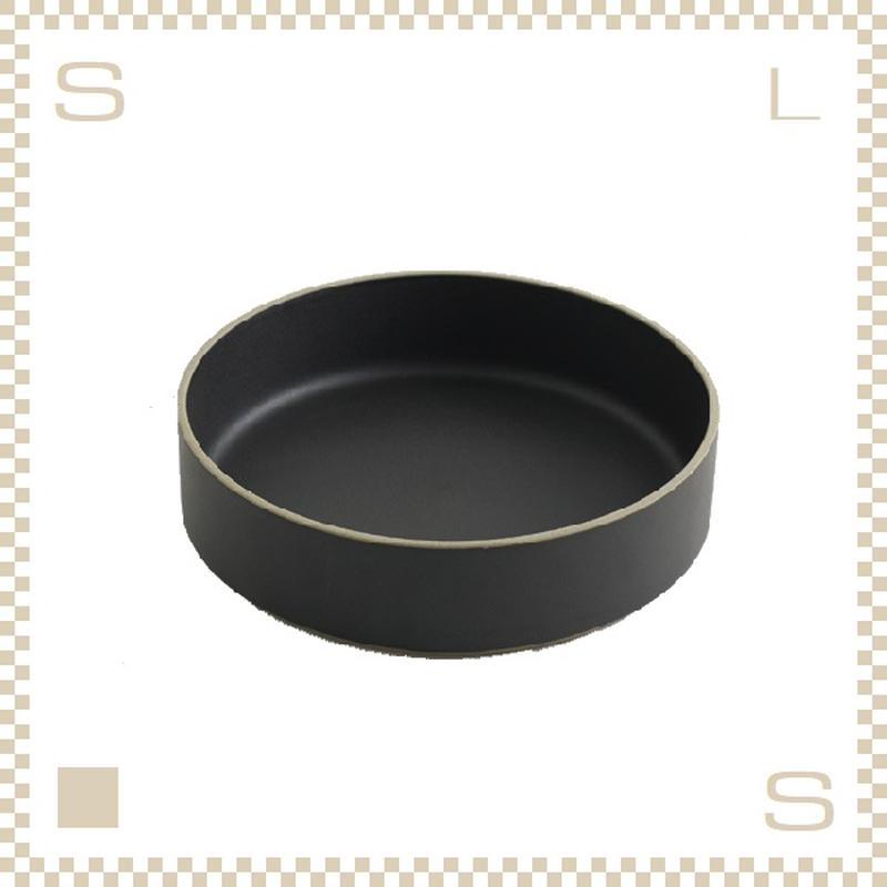 ハサミポーセリン ボウル 直径220mm ブラック Φ220/H55mm スタッキング可 HPB010 Hasami Porcelain