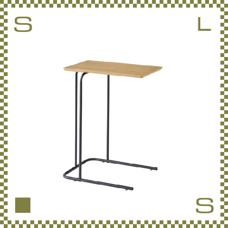 サイドテーブル ナチュラル W35/D47/H60cm ミニテーブル シンプルナチュラル 北欧デザイン azu-end222na