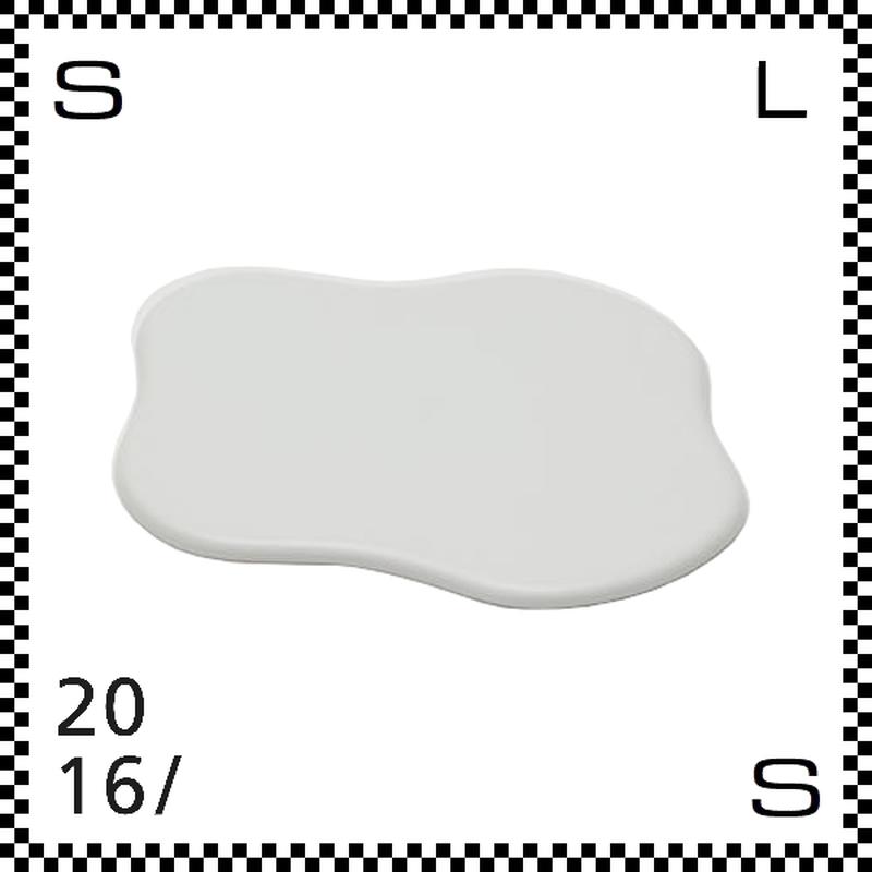 2016/ TAF タフ トレー ホワイト W200/D185/H5mm トレイ クラウドモチーフ 雲モチーフ 有田焼 日本製 gs-028
