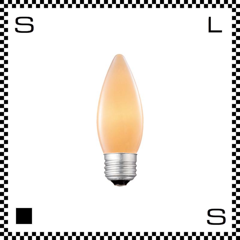 アートワークスタジオ レトロバルブランプ シャンデリア電球 ホワイト E26 40W BU-1053