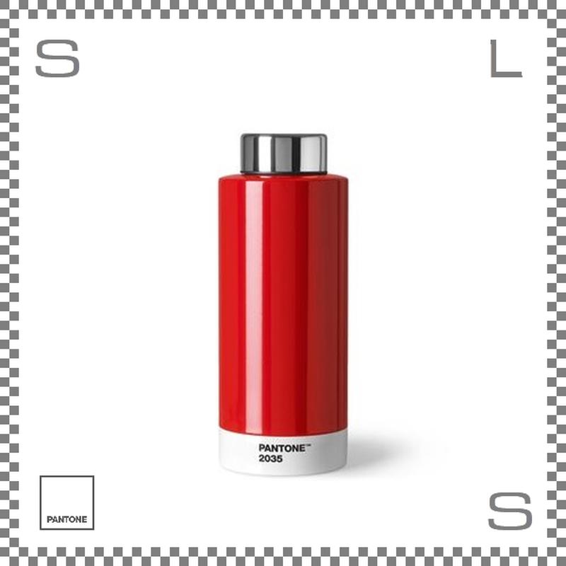 PANTONE パントン ドリンクボトル スチール レッド 630ml Φ74/H190mm ステンレスボトル 魔法瓶