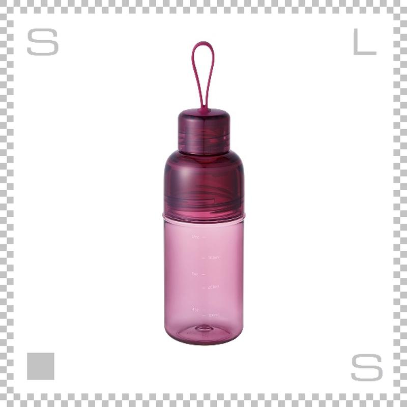 KINTO キントー ワークアウトボトル マゼンダ 480ml ウォーターボトル マグボトル 携帯ボトル