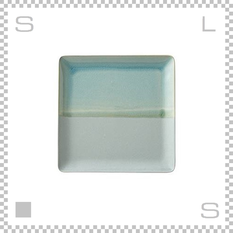 SAKUZAN サクザン COLOR カラー プレート Lサイズ ターコイズ W233/D233/H18mm パステルカラー 日本製