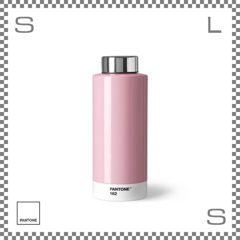PANTONE パントン ドリンクボトル スチール ライトピンク 630ml Φ74/H190mm ステンレスボトル 魔法瓶