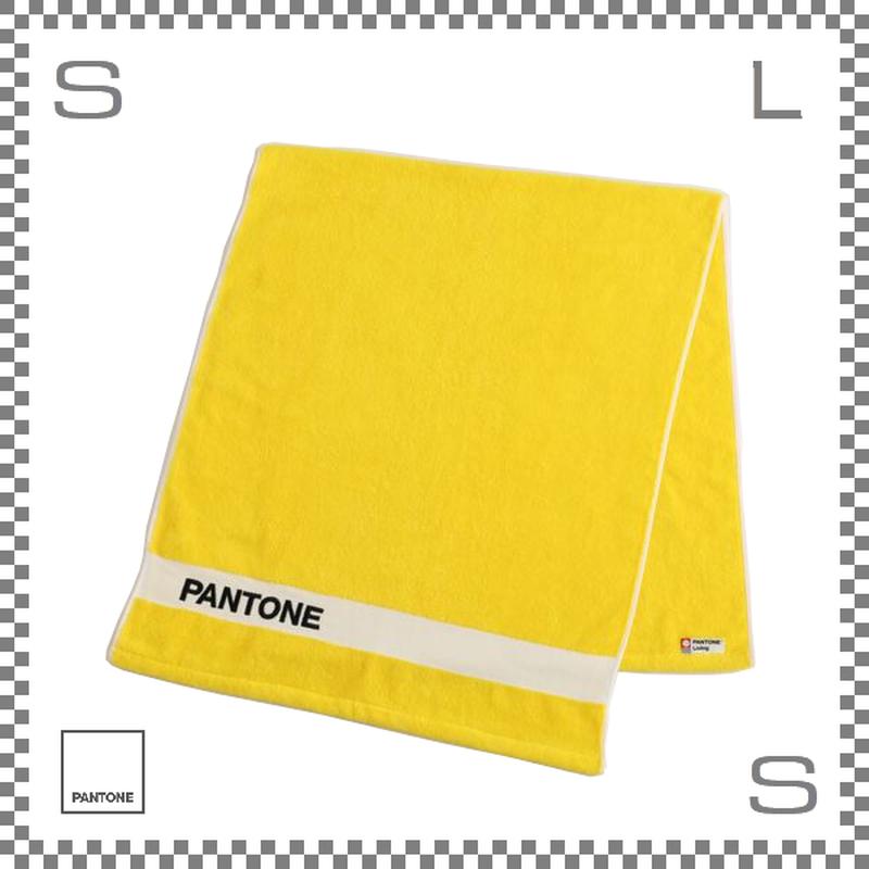 PANTONE パントン バスタオル イエロー 120×50cm コットン製 今治タオル製 日本製