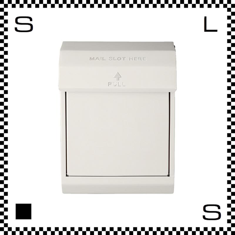 アートワークスタジオ メールボックス ダイヤル式 クリーム W283/D190/H380mm 壁付ポスト 鍵付き 郵便ポスト  TK-2079-CR