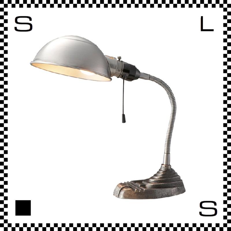 アートワークスタジオ オールドスクールポリッシュ デスクライト 電球付 アーム:300mm 経年劣化が愉しめるモデル 鋳物 AW-0329