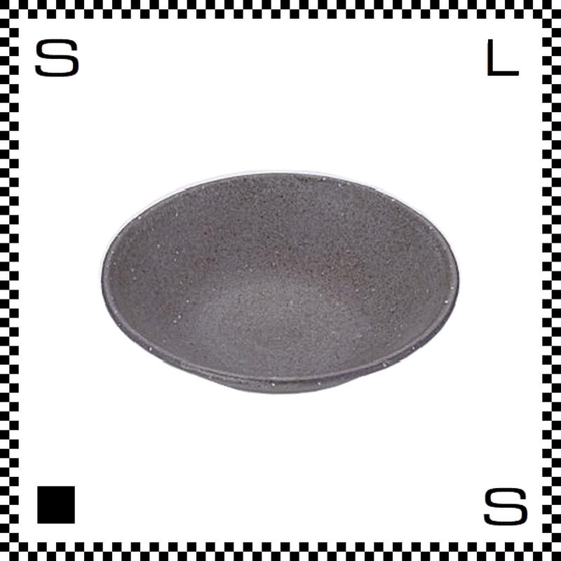 笠間焼 鈴木まるみ 小皿 紺マット Φ12/H4cm(高台径:4cm) ハンドメイド プレート ラウンドプレート 日本製