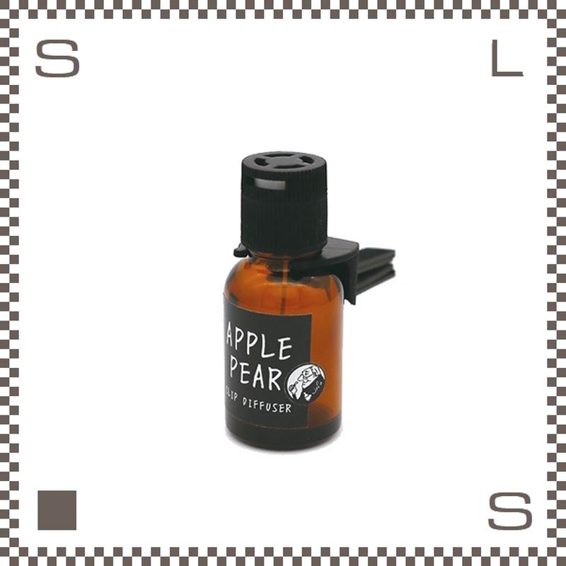 John's Blend ジョンズプレンド クリップディフューザー アップルペアー カーエアフレッシュナー 約1~2か月持続 車用芳香剤