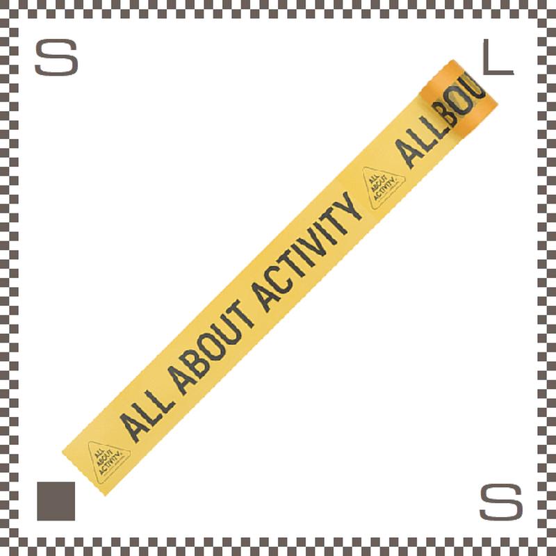 ALL ABOUT ACTIVITY オールアバウトアクティビティ バグアウトマスキングテープ クライムシーンテープ 全長7m 6時間持続