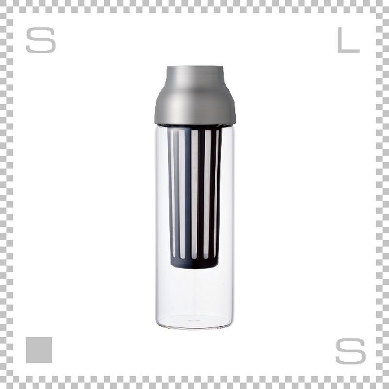 KINTO カプセル コールドブリューカラフェ ステンレス 1000ml Φ85/H270mm 水出しコーヒー 耐熱ガラス製