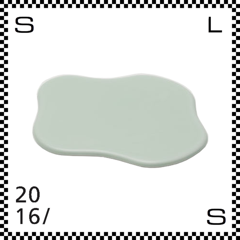 2016/ TAF タフ トレー ピスタチオ W200/D185/H5mm トレイ クラウドモチーフ 雲モチーフ 有田焼 日本製 gs-031