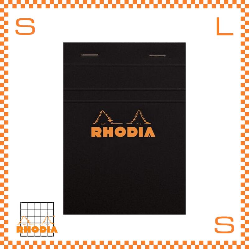 ROHDIA ロディア ブロックメモ No.13 方眼 ブラック 10冊セット 10.5×14.8cm 80P フランス製