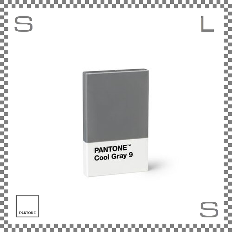 PANTONE パントン カードホルダー クールグレー 95×60×11mm 名刺入れ カードケース