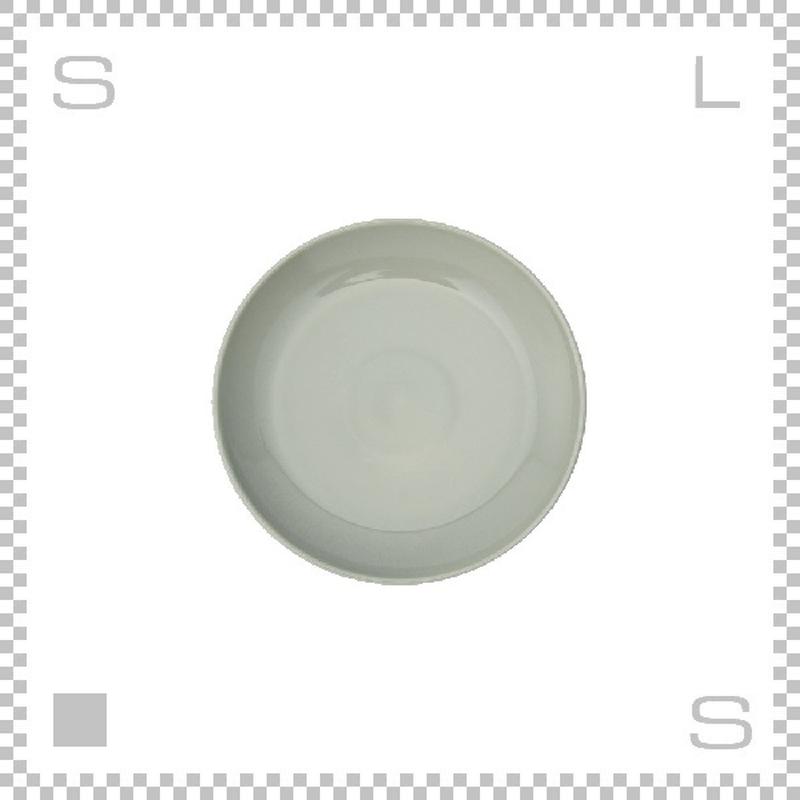 Common コモン プレート 180mm グレー Φ180/H21mm 波佐見焼 日本製