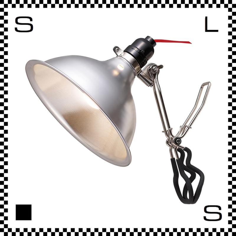 アートワークスタジオ ファクトリークリップ Lサイズ ブラックコード クランプ式 テーブルライト 電球付  AW-0291V-RD
