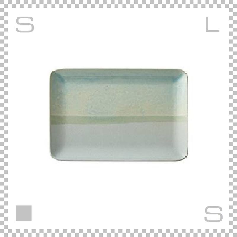 SAKUZAN サクザン COLOR カラー プレート Mサイズ ターコイズ W227/D152/H15mm パステルカラー 日本製