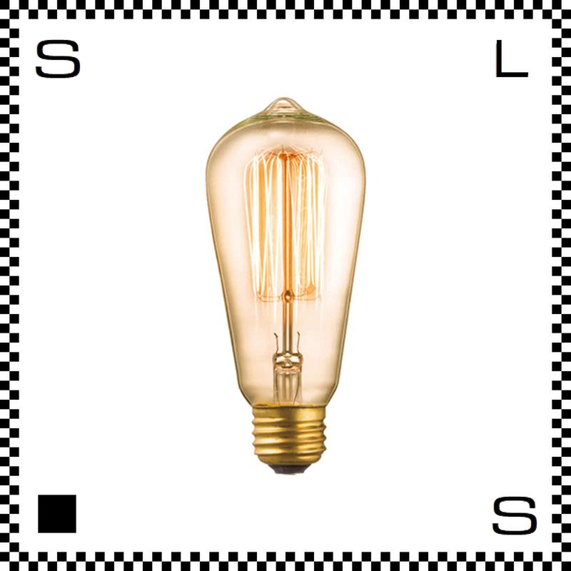 アートワークスタジオ レトロバルブランプ ST58電球 40W BU-1148