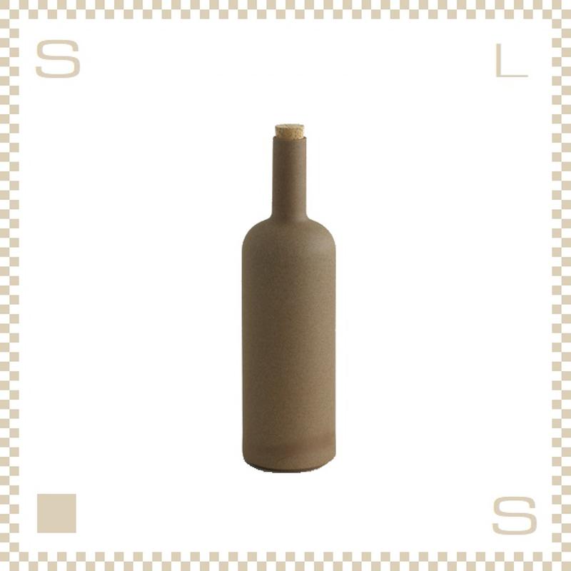 ハサミポーセリン ボトル ナチュラル Φ85/H300mm スタッキング可 HP029 Hasami Porcelain
