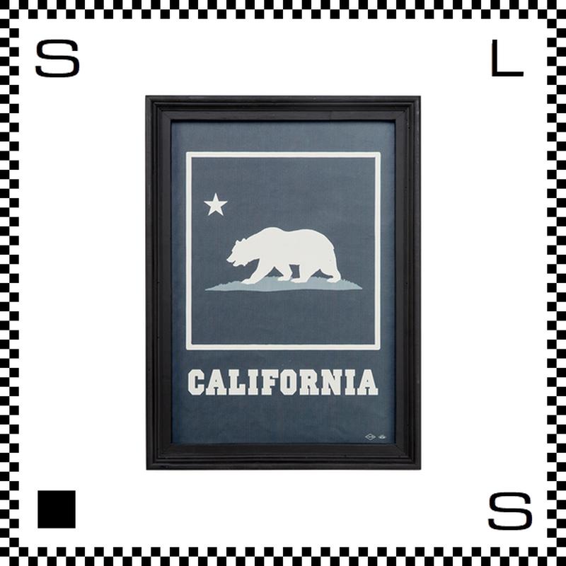 アートワークスタジオ アートフレーム A3サイズ カリフォルニア ブラックフレーム W340/D30/H465mm ポスター付フレーム アートポスター TR-4197-CA