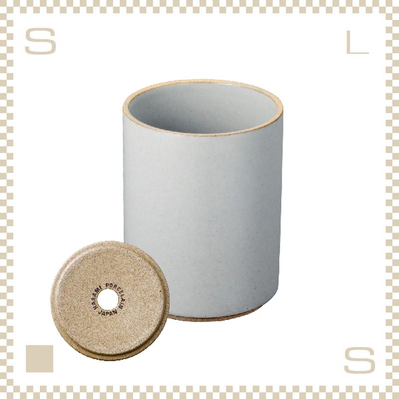 ハサミポーセリン プランター クリア グロス Φ85/H106mm スタッキング可 底穴付き HPM044 Hasami Porcelain